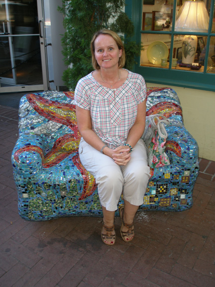 Candy in the Mosaic Seat