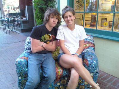 Bailey kids, Kelcey and Cameron