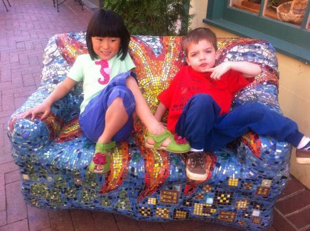 April 2011 Sophie and Jack